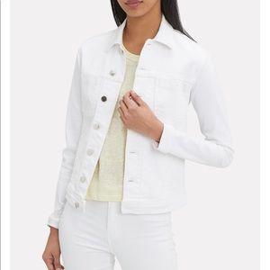 L'AGENCE 🖤 White Celine Denim Jacket
